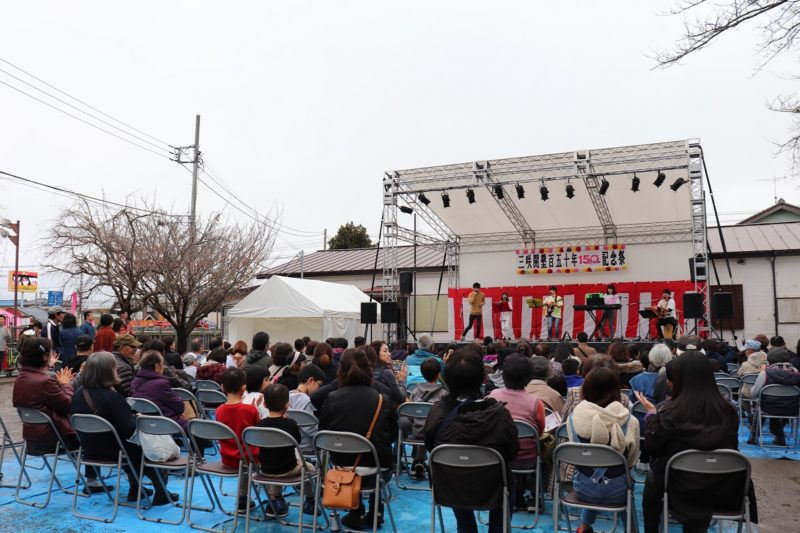 2019年は50年に一度の三咲開墾150年記念祭があった年、音楽ステージも華やかに